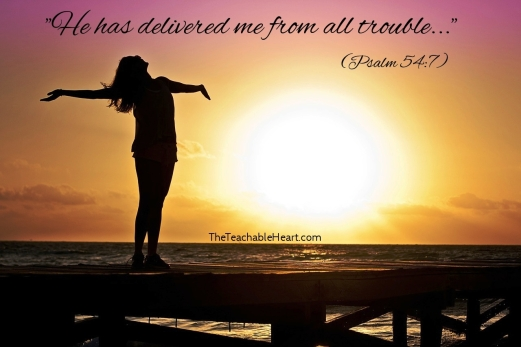 Psalm 54_5_7_Delivered from trouble